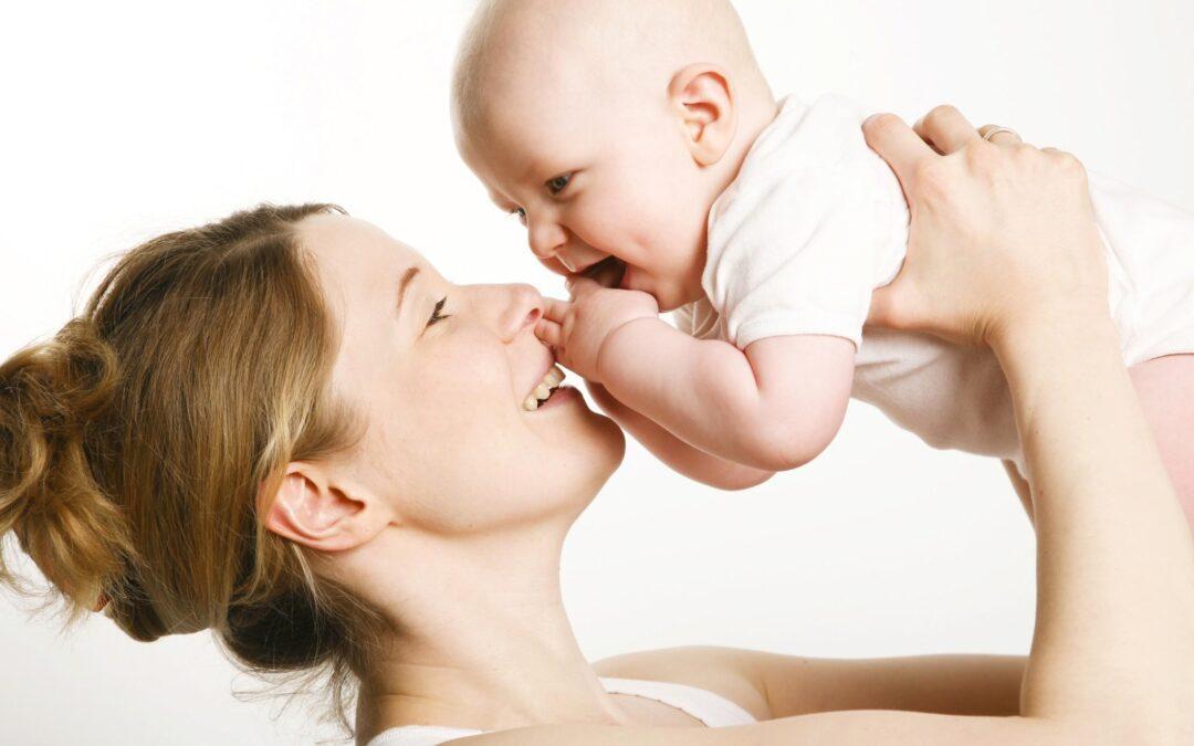La classe di bioenergetica per mamme e bebè