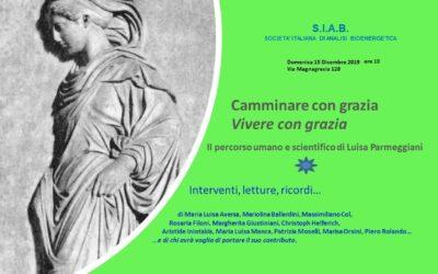In memoriam Luisa Parmeggiani