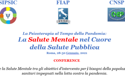 Conferenza Nazionale SIPSIC: La psicoterapia al tempo della pandemia. Articolo di Diana M. Scubla, psicologa, psicoterapeuta SIAB