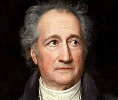 J. W. von Goethe: Im Atemholen – nel prender fiato